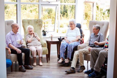 senior citizen group